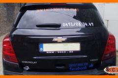 Sticker sur voiture